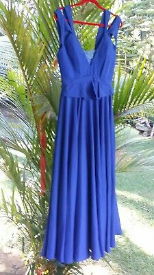 Graduation dress 10 chic cocktail formal prom dinner party ball gown vintage new