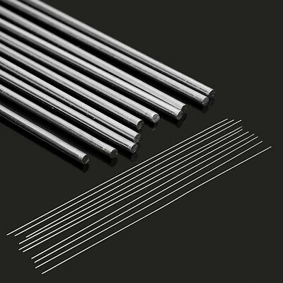 10pcs 1.6X330mm Aluminum Alloy Silver TIG Filler Rods Welding Brazing Wire Tool