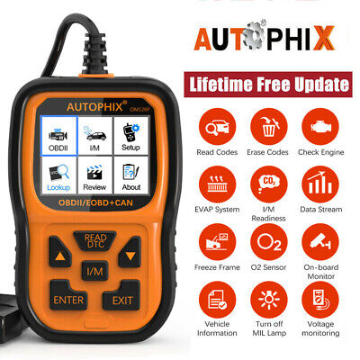 Autophix OM126 Diagnostic Scan Tool OBD2 EOBD CAN Check Engine Light Code Reader