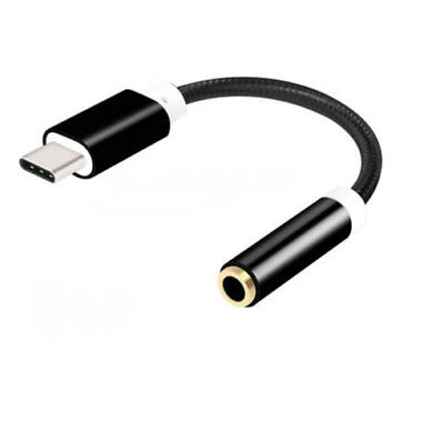 Type C to 3.5 mm Aux Headphone Jack Moto Earphone USB C Adapter for Type C Port