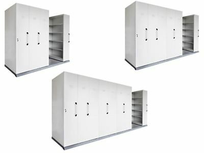 Rapidline Mobile Shelving - Lockable - Delivered + Assembled  Melbourne