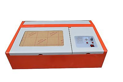 40W CO2 Laser Graviermaschine 300x200mm Cutting Tool USB Cutter Engraving