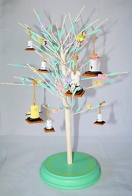 The Original Smore's smores Tree Easter  ornaments Midwest  2 large 4 small