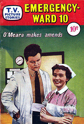 TV PICTURE STORIES - EMERGENCY WARD 10 - Facsimile 68 page Comic