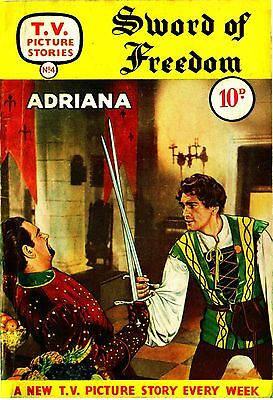 TV PICTURE STORIES - SWORD OF FREEDOM  -   Facsimile 68 page Comic
