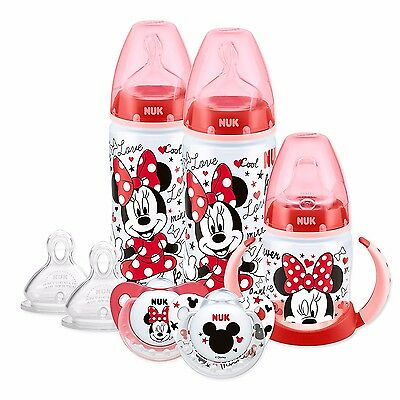 BRAND NEW - NUK Disney Minnie/Mickey Mouse Soother Set (6-18 Months)