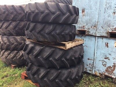 Ford New Holland Massey Ferguson Wheels  And Agri Tyres 16.9R34  13.6R24