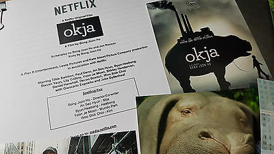 Okja 2017 Bong Joon-ho Press Kit Information Notes & Pictures!  Check it out!