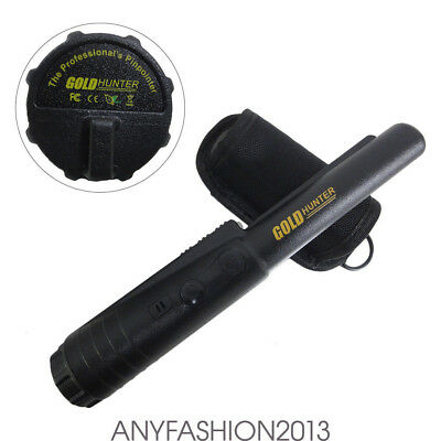 Adjustable Sensitivity Metal Detector Handheld Coin Pointer Battery Powered