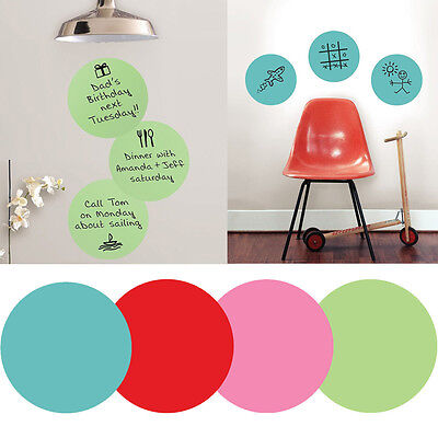 Wall Pops Peel & Stick Calypso Dry-Erase Dots with Marker, 3-Count, 13x13 inch