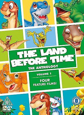 The Land Before Time: The Anthology Volume 1 DVD Film 1, 2, 3 & 4 New R4