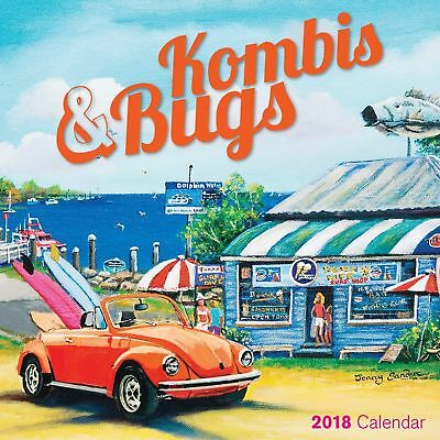 Kombis & Bugs 2018 Square Wall Calendar NEW by Bartel, Postage Included