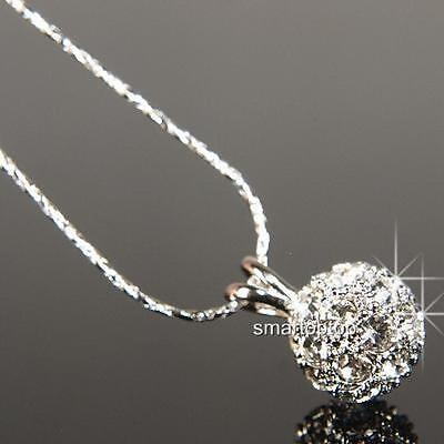 18K Gold Plated Necklace use Crystal AUSTRALIA NEW