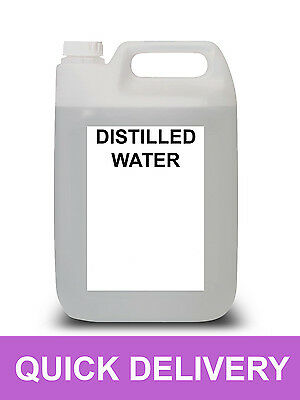25 Litre Distilled Water Ultra Pure Not Deionised 25L L
