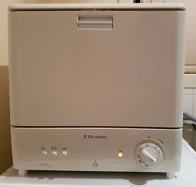 ELECTROLUX Bench Top freestanding dishwasher ESF245 as new condition
