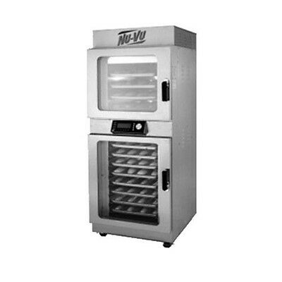 Nu-Vu OP-4/8A Electric V-Air Oven and Proofer with Programmable Controls