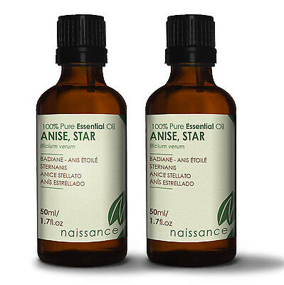 Naissance Pure Anise Star Essential Oil 100ml (2 x 50ml) Wholesale