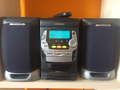 GRUNDIG UMS 11, remote controlled HIFI STEREO MICRO SYSTEM