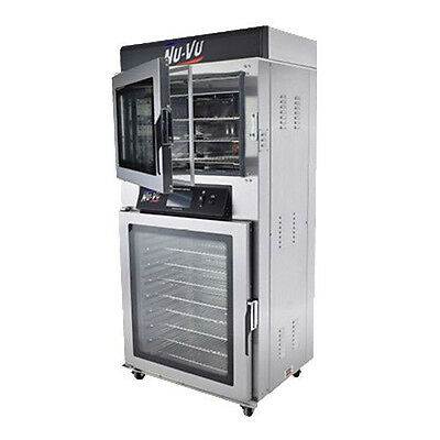 Nu-Vu QBT-3/9 Electric Oven Proofer with Touch Screen Programmable Controls