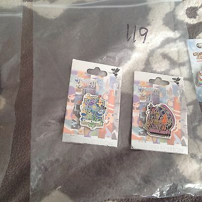 New Authentic Disney pin lot of 2 Misc Limited Edition  60th Dianmond pins #119