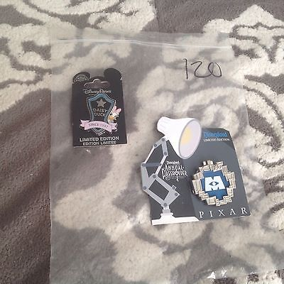 New Authentic Disney pin lot of 2 Misc Limited Edition Monsters Inc.pins #120