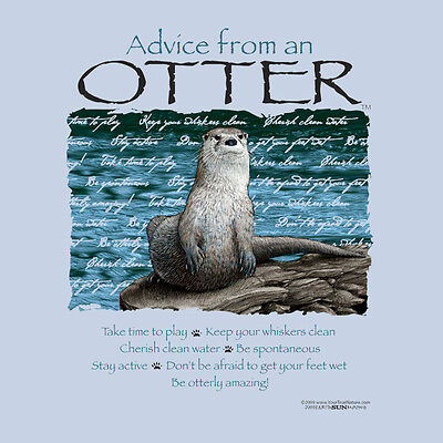 Advice From A Otter X-Large Adult T-Shirt