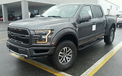 2018 Ford F-150  2018 Raptor Magnetic Metallic 802A loaded Graphics Package Technology Package !!