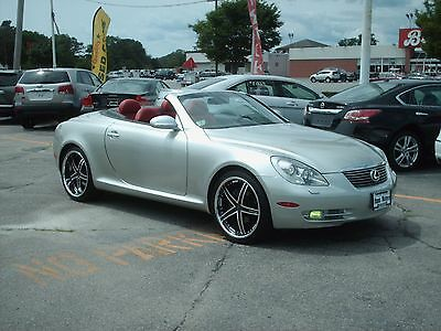 2002 Lexus SC convertible 2002 Lexus SC-430 Blood red Seats Convertible