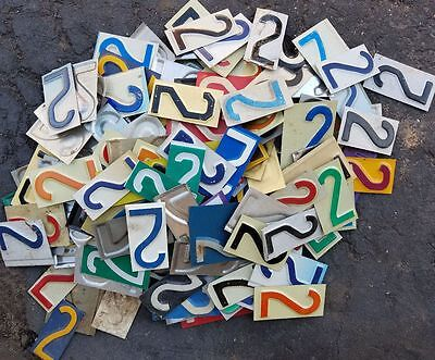 Lot of 50+ license plate 2's pieces