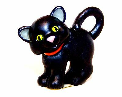 1994 Hallmark Black Kitten NEW Merry Miniature HALLOWEEN Never Displayed QFM8273