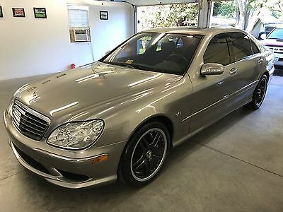2006 Mercedes-Benz S-Class S65 AMG V12 twin turbo