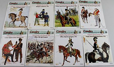 Lot of 8 Osprey Cavalry of the Napoleonic Wars series books