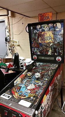 Hook Pinball - Manufactured by Data East in 1992