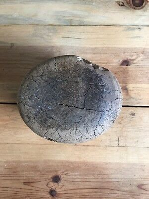 Vintage Early Wooden /wood Block Hat Mold Millinery Form