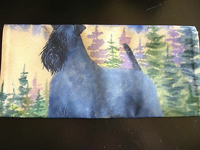 "Kerry Blue Terrier Flag 11"" x 14"" for Garden or Home"