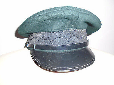 Light Infantry Officers Peaked Cap Size Approximate 58Cm British Army Issue