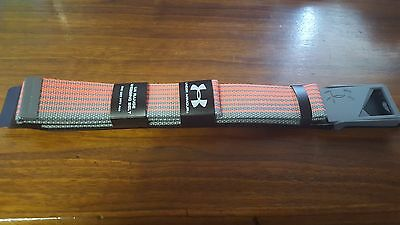 Under Armour Men's Webbed Belt Retail $25.00 One size fit all - 035