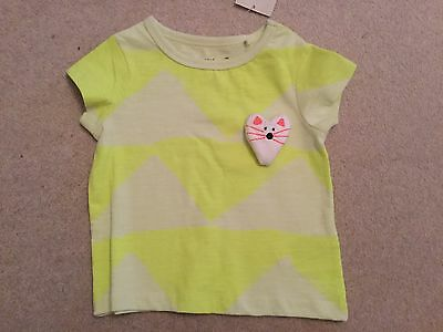 Girls / boys Next bright tshirt top with 3D mouse in the front ! BNWT 3 - 6