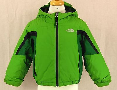 259 The North Face boy toddler winter hood jacket ski snow insulated coat EUC 4