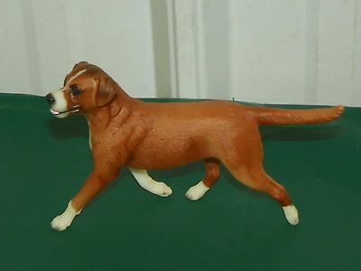 Rare Breyer Horse Companion Animals Tan & White Lab Labrador Dog Retriever