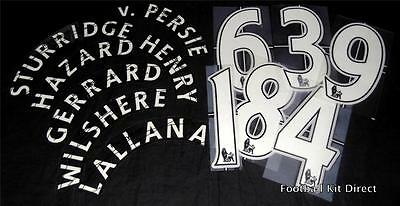 Official Premier League Children Football Shirt Printing any name/number kids