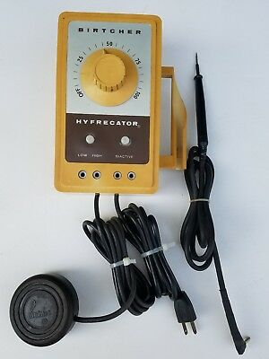 FREE SHIPPING! Birtcher Hyfrecator 701 Electrosurgical Unit w/ Foot Pedal, Mount