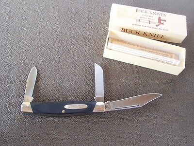 PRE-86  BUCK 301 Knife STOCKMAN Lightly used in Box