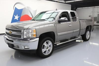 2012 Chevrolet Silverado 1500 LT Extended Cab Pickup 4-Door 2012 CHEVY SILVERADO LT EXTND CAB 6-PASS BLUETOOTH 20'S #321790 Texas Direct