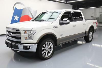2015 Ford F-150  2015 FORD F150 KING RANCH CREW 4X4 FX4 5.0 PANO NAV 20K #C93245 Texas Direct