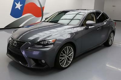 2014 Lexus IS  2014 LEXUS IS250 PREMIUM SUNROOF CLIMATE SEATS REAR CAM #018661 Texas Direct
