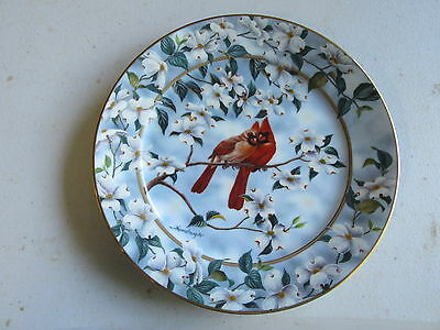 "Bradford Exchange Signs of Spring ""Empty Nesters"" Plate"