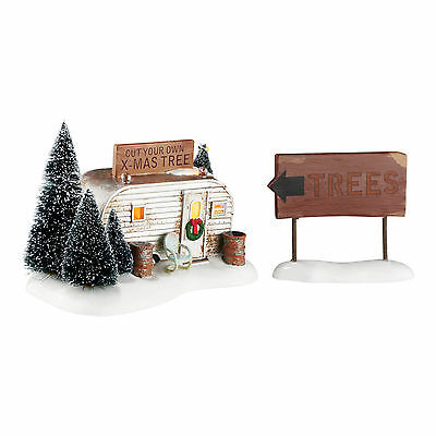 Dept 56 Snow Village Christmas Vacation THE GRISWOLD FAMILY BUYS A TREE 4054985