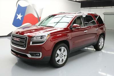 2017 GMC Acadia  2017 GMC ACADIA SLT LTD 7-PASS LEATHER NAV HUD 20'S 19K #239879 Texas Direct