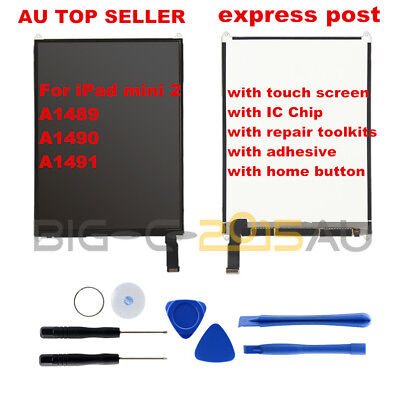 For iPad mini 2 LCD Display & Touch Screen Digitizer Replacement Kits with Tools